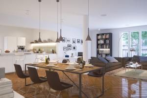 Rénovation d'un appartement à Saint-Cloud