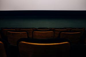 Présentation d'un film à Paris 8