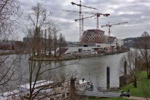 Projet de construction sur l'Ile Seguin à Boulogne Billancourt
