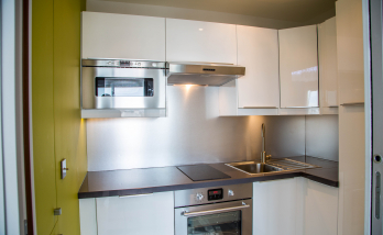 Réalisation d'une cuisine sur-mesure dans un appartement de 47 m²