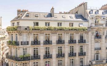 Rénovation d'une façade d'immeuble à Boulogne