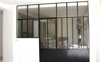 Installation d'une verrière à Boulogne