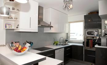 Modernisation d'une cuisine dans un appartement à Boulogne-Billancourt