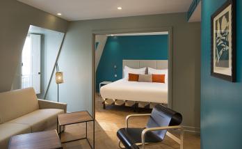 Rénovation d'un hôtel proche de Boulogne Billancourt