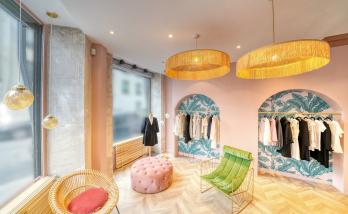 Rénovation boutique Paris