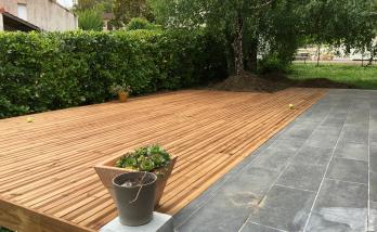 Aménager une terrasse en bois à Saint-Cloud