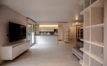 Un appartement entièrement rénové par des artisans partenaires de La Maison Des Travaux Boulogne-Saint Cloud