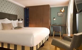 rénovation comme une chambre d'hôtel à Boulogne Billancourt