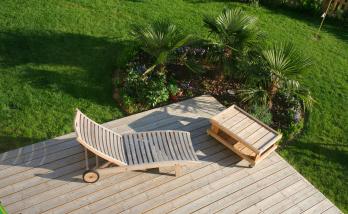 Construire une terrasse en bois à Saint-Cloud