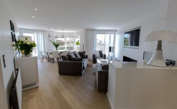 Exemple de décoration intérieur d'un appartement à Boulogne-Billancourt