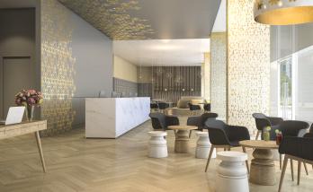 Rénover le sol d'un hôtel à Boulogne