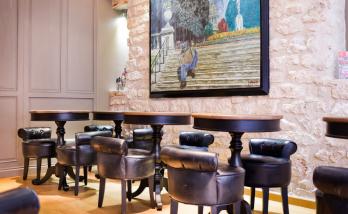 Rénovation intérieure d'un hôtel à Paris
