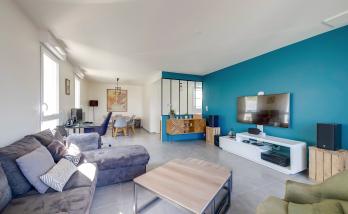 Rénover un salon à Saint-Cloud