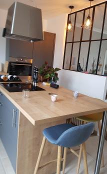 Installation d'un verrière dans une cuisine à Boulogne