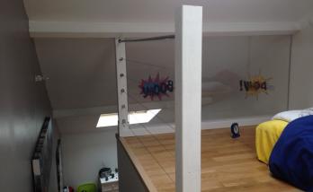 Aménagement d'une mezzanine dans une maison près de Boulogne-Billancourt