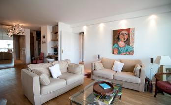 La rénovation totale de cet appartement a été confiée à l'agence La Maison Des Travaux Boulogne-Saint Cloud