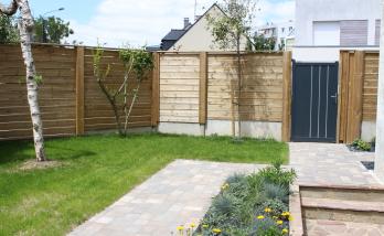 Créer une allée de jardin à Saint-Cloud