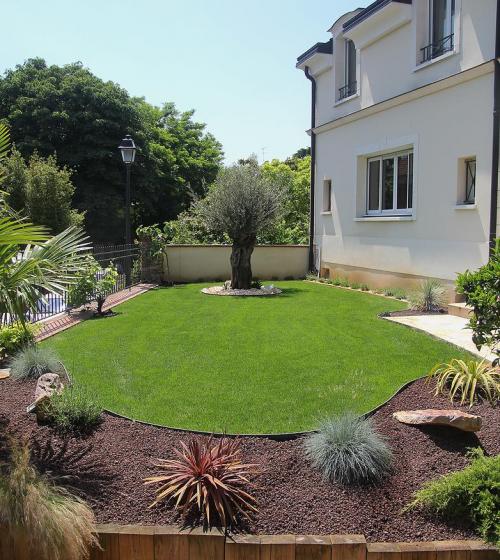 Création d'un jardin à Boulogne