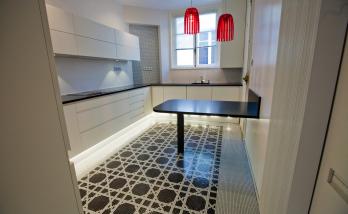 Pose de mosaïque dans un appartement à Boulogne-Billancourt