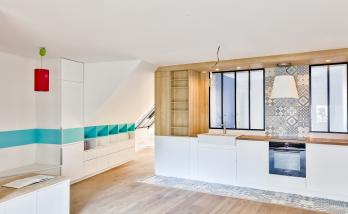 décoration appartement sous combles