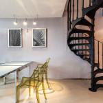 Pose d'un escalier à Boulogne-Billancourt